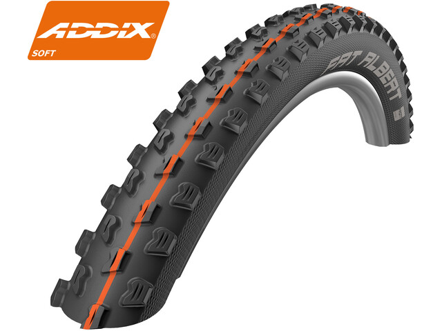 """SCHWALBE Fat Albert Front Vouwband 29"""" Addix Soft SnakeSkin Tubeless Ready Easy"""